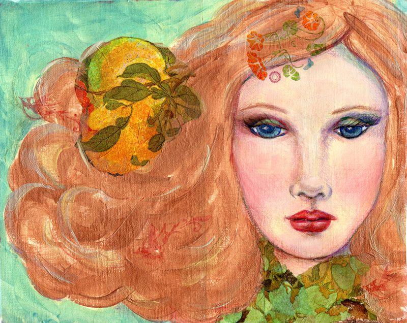 Goddess Painting Final Print 100